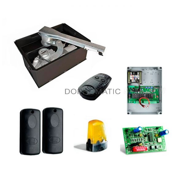 CAME FROG-J kit completo puertas abatibles